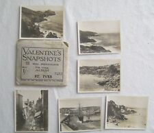 12 Real Photographs For Your Snap Shot Album St Ives England Valentines