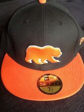 New Era California Golden Bears Berkeley NCAA Fitted Hat Black/Orange 7 1/2