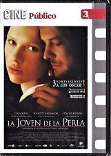 Cine Público: LA JOVEN DE LA PERLA de Peter Webber. Edición de diarios.