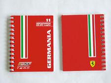 FERRARI brochure personnal Team book F1 2010 grand prix ALLEMAGNE formule 1