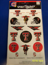 Texas Tech Red Raiders NCAA University College Gift Logo Decals Spirit Stickers