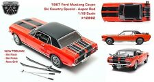 1/18 1967 Ford Mustang Coupe Ski Country Special Greenlight