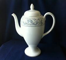 Wedgwood Dolphins white 2 pint coffee pot (tiny chip on spout)