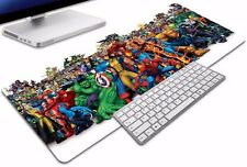 Large Marvel Super Heroes Inspired Large Gaming Mouse Pad 90 x 30cm