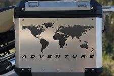 Motorcycle Decal Kit World Adventure for Touratech Panniers