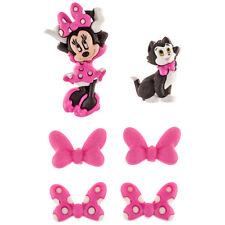 Jesse James Dress It Up Buttons Disney Collection MINNIE BOW-TIQUE - 6pcs