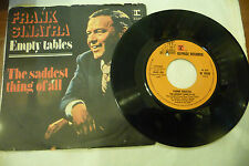 "FRANK SINATRA""EMPTY TABLES-disco 45 giri REPRISE Italy 1976"""