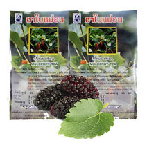 30 BAGS MULBERRY GREEN TEA HERB REDUCE CHOLESTEROL BLOOD PRESSURE BLOOD SUGAR