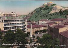 # CAMPOBASSO: PIAZZA DELLA CITTORIA E CASTELLO MONFORTE  1959