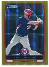 2012 Bowman Chrome Prospects Gold Refractor 10 Bryce Harper Rookie 4/50