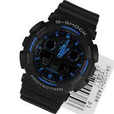 * nuevo * Para Hombre Casio G-shock Hyper Blue Xl ga-100-1a2er 1a2dr Reloj RRP £ 159