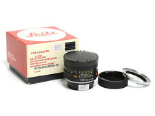 Leica Summicron-R 50mm F/2 Lens Converted to Nikon Mount