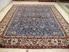 9X13 1940's GORGEOUS AUTHENTIC HAND KNOTTED 70+YRS ANTQ WOOL ISFAHAN PERSIAN RUG