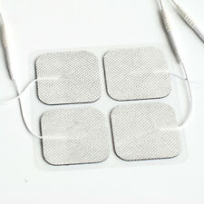 Reusable-2x2 Electrode Pads TENS pads White Cloth  40 pads 10 packs of 4 pads