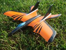 RADIO CONTROLLED PLANE RC AIRCRAFT RTF TOUGH EPP FOAM X FIGHTER ORANGE AEROPLANE