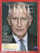 TIME Magazine ~ EXCLUSIVE! THE FORGOTTEN PRINCE ~ November 4, 2013