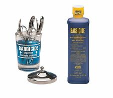 Barbicide désinfectant Solution 473ml + Pot 4 Salon Spa Médicale Athlète Outils