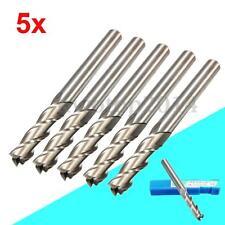 5X Extra Long 6mm 3 Flute HSS & Aluminium End Mill Cutter CNC Bit Extended Tools