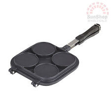 DAVIS & WADDELL Non-stick Iron Mould Mold Press Pancake Pikelet Pan Maker!