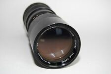 VIVITAR 85-205MM F3.8 CLOSE  TELE-ZOOM LENS M42 SCREW MOUNT MANUAL FOCUS