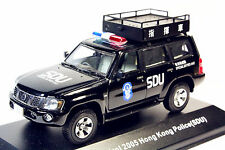 1:43 J-collection Nissan Patrol 2005(Y61) Hong Kong Police(SDU) Command Car