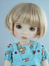 Monique BUBBLES Wig Lt Gld Blonde Size 7 1/4 YoSd BJD shown on Avery by MyMeadow