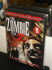 Zombie Pack 2 - Burial Ground / Flesh Eater / Zombie Holocaust (DVD) 3-DISC NEW!