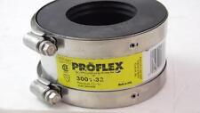 LOT OF 2 SHIELDED COUPLINGS FERNCO PROFLEX 3001-32 3X2 CI STEEL PLASTIC / COPPER