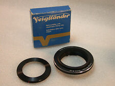 Voigtlander Retroadapter Ring, 49mm Reversing Ring, Retro E 49 + Box