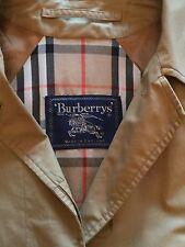 Ladies Burberrys Raincoat Size 12/14  Style A Line Swing Colour Honey