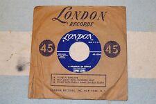 45 RPM Water Water b/w A Handful Of Songs Tommy Steele Steelmen London 45-1760