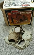 VINTAGE 80'S KENNER STAR WARS ESB DAGOBAH PLAYSET W/ ORIGINAL BOX