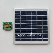 18v 3w solar panel solar pv module power with 12v 3a solar charge controller