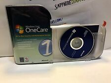 Windows Live OneCare All-In-One Security and Performance Service. MICROSOFT