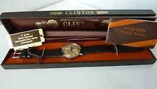 Clinton retro Swiss watch shock resistant hand winding . MAGNIFICENT