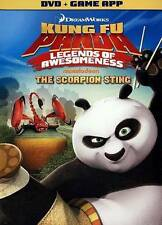 Kung Fu Panda: Legends of Awesomeness - The Scorpion Sting, Acceptable DVDs