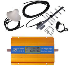 2016 NEW LCD display 3G CDMA 850Mhz phone signal booster repeater with YAGI kit
