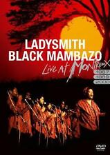 Ladysmith Black Mambazo - Live at Montreux 1987/1989/2000 DVD   NEU&OVP!