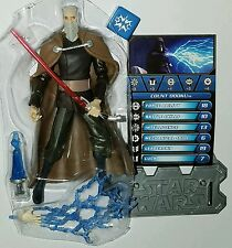 "Star Wars COUNT DOOKU 3.75"" Action Figure Sith Lord CW06 The Clone Wars"