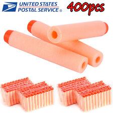 Kid Orange 400×Refill Toy Gun Bullet Darts Round Head Blasters For NERF N-Strike