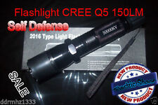 Electro Shocker Self-defense Electric Shock LED Flashlight Tourch Police