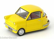 Abri en jaune échelle 1/43 voiture modèle par autocult