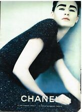 Publicité Advertising 1998 Haute Couture Chanel