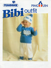 ~ Pingouin Baby Knitting Pattern For Cute Little Outfit To Knit ~