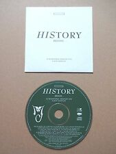 MICHAEL JACKSON - HISTORY BEGINS - MEGA-RARE UK PROMO CD GREEN DISC VERSION/HITS