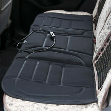 DC 12V Car Heated Rear Seat Cover Cushion Comfortable Relax Heater Warmer Black