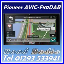 "Pioneer AVIC-F80DAB Double Din 7"" Navigation System Bluetooth DAB Digital Radio"