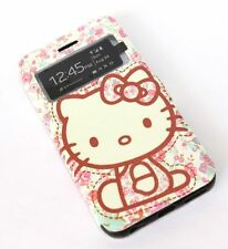 for iPhone 6 / 6S - HELLO KITTY Leather Card Wallet Flip Pouch Holder Case Cover