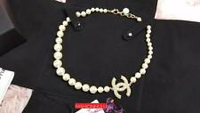 2015 Anniversary CHANEL CC PEARL NECKLACE Chocker Necklace