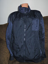 New Men's Ecko Unltd Pinepoint Blue Rhino Zip Down Track Jacket  2XL  $60